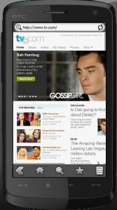 Rcich content with Skyfire 1.5 browser on mobile